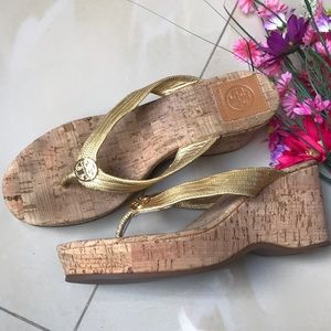 Tory Burch Cork Sandals size8.5 M